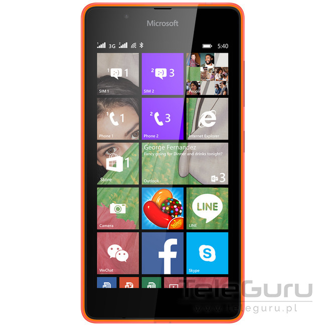 Microsoft Lumia 540 Dual
