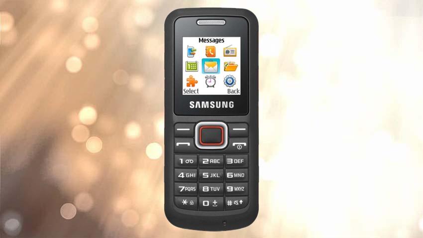 Photo of Test Samsung E1130B