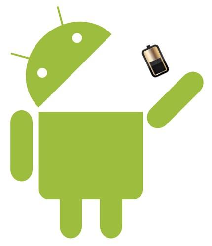 news-android-battery Jeden telefon, jedna bateria, różny czas pracy na jednym ładowaniu