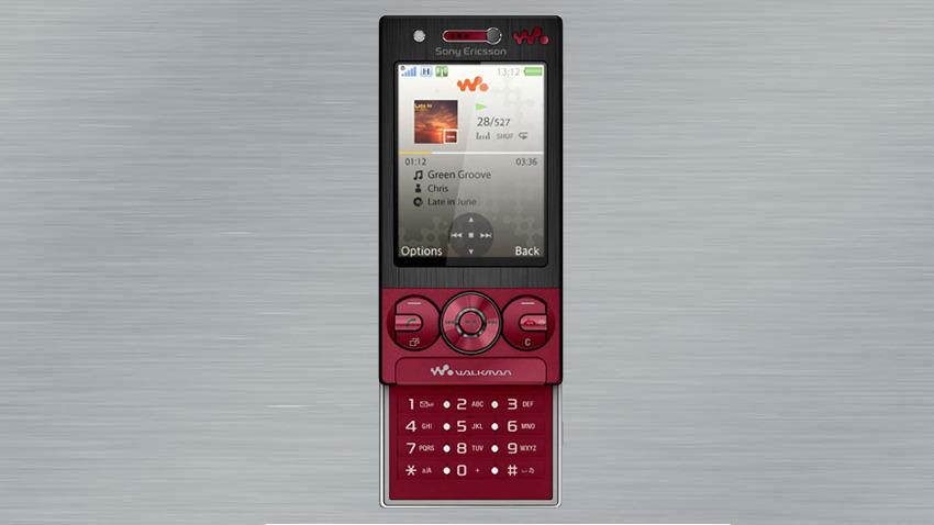 Photo of Test Sony Ericsson W705