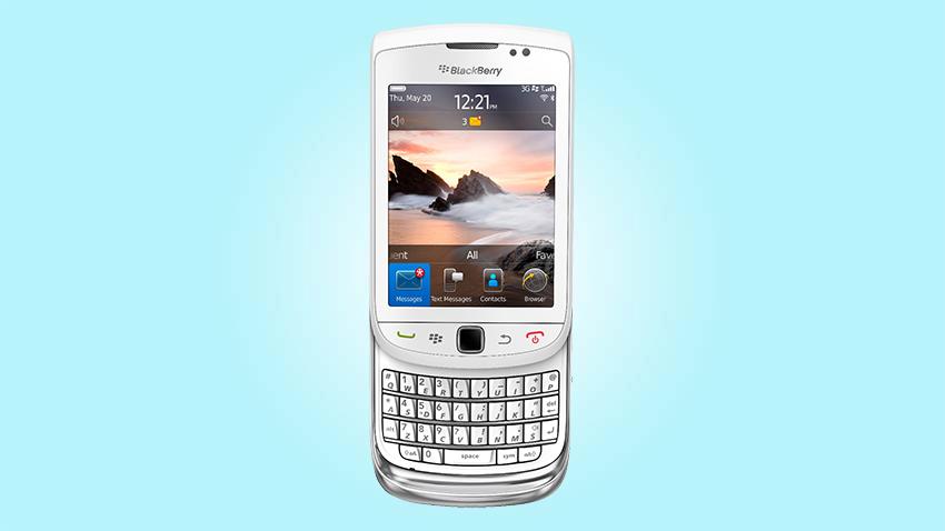 Photo of Test BlackBerry Torch 9800