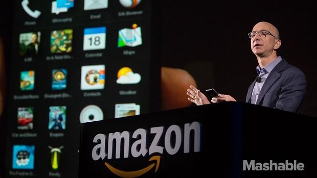 news-amazon-jeffbezos2 Smartfon Amazona rynkową klapą