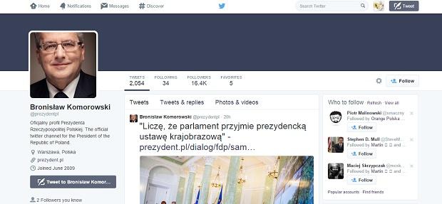 news-twitter-obama Twitterowy zawrót głowy - politycy w mediach społecznościowych