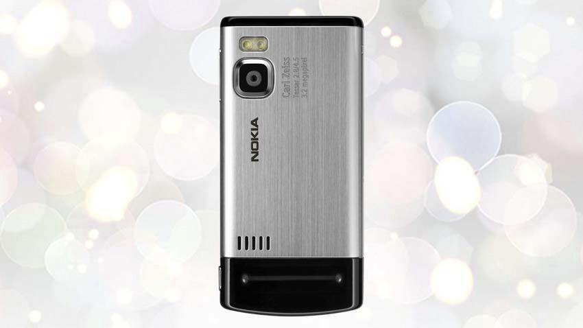Photo of Test Nokia 6500 slide