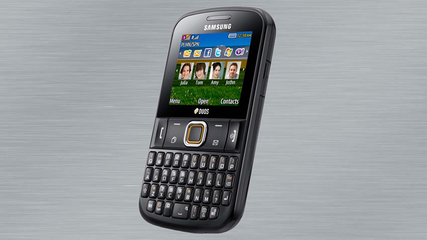 Photo of Test Samsung Ch@t 222