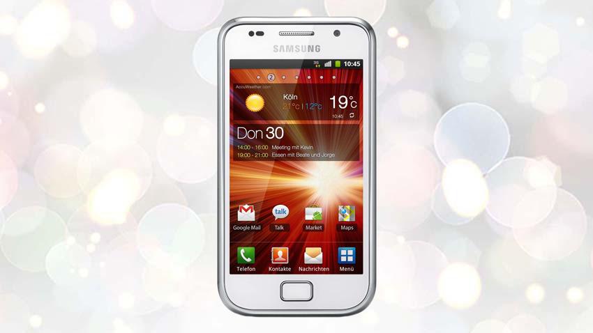 Photo of Test Samsung Galaxy S Plus