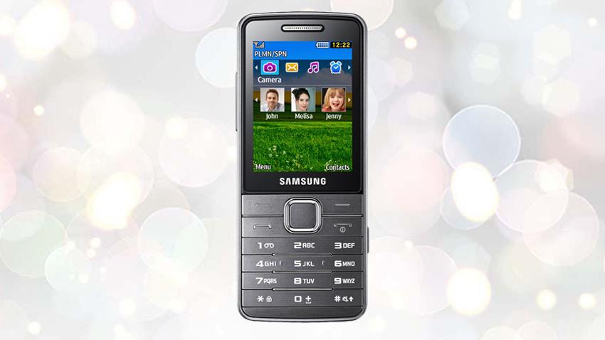 Photo of Test Samsung S5610