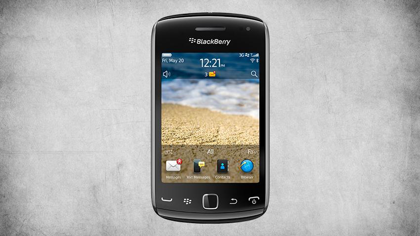 Photo of Test BlackBerry Curve 9380