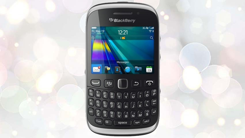 Photo of Test BlackBerry Curve 9320