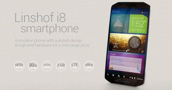news-linshof-smartfon1 Linshof i8 - ośmiordzeniowy smartfon rodem z Niemiec