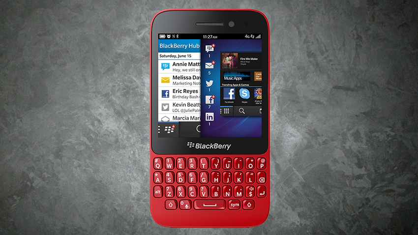 Test Blackberry Q5 Teleguru