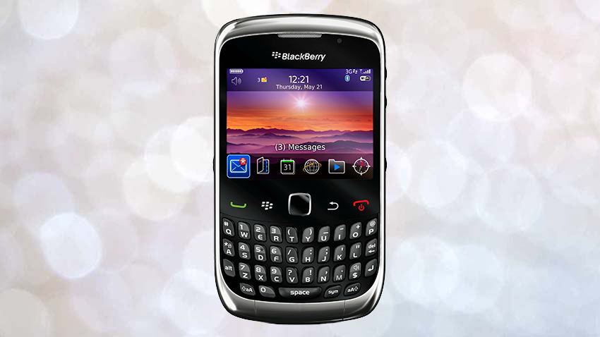 Photo of Test Blackberry Curve 9300