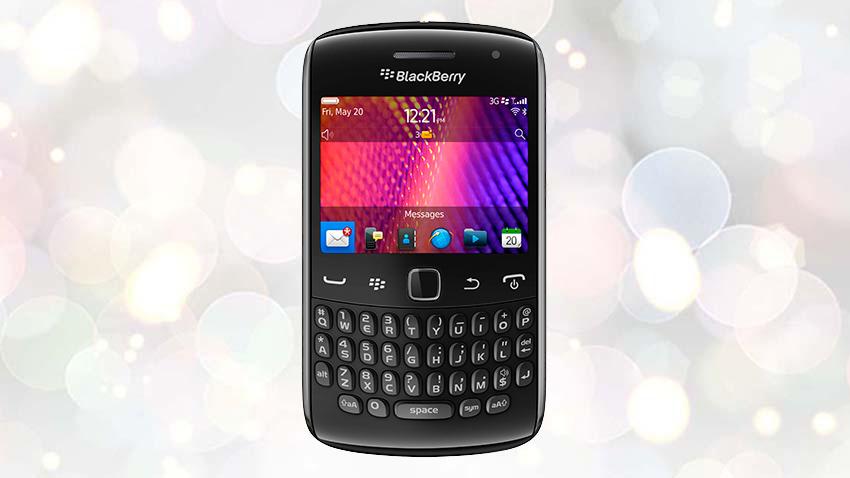Photo of Test BlackBerry Curve 9360