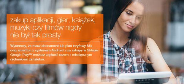 news-orange-googleplay1 Orange wprowadza możliwość płatności za aplikacje z Google Play
