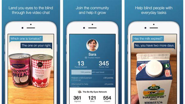 """news-ios-aplikacja-niewidomi """"Bądź moimi oczami"""" - pomoc dla niewidomych przy użyciu smartfona"""