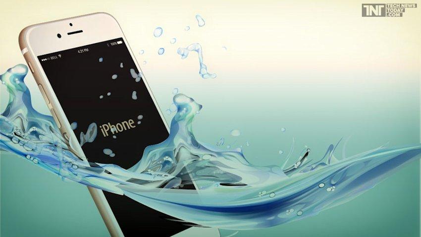 Photo of Przyszłe iPhone'y mogą być wodoodporne