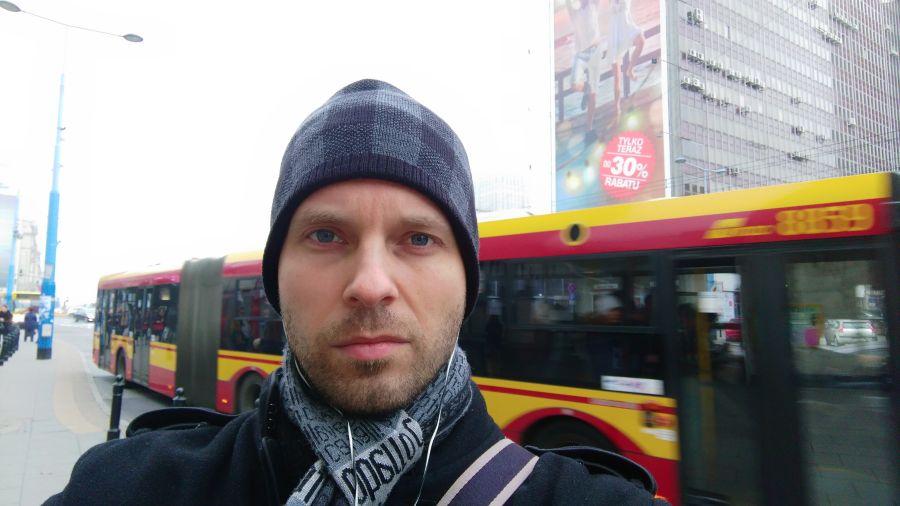 Przykładowy selfie zrobione (innym) HTC Desire Eye
