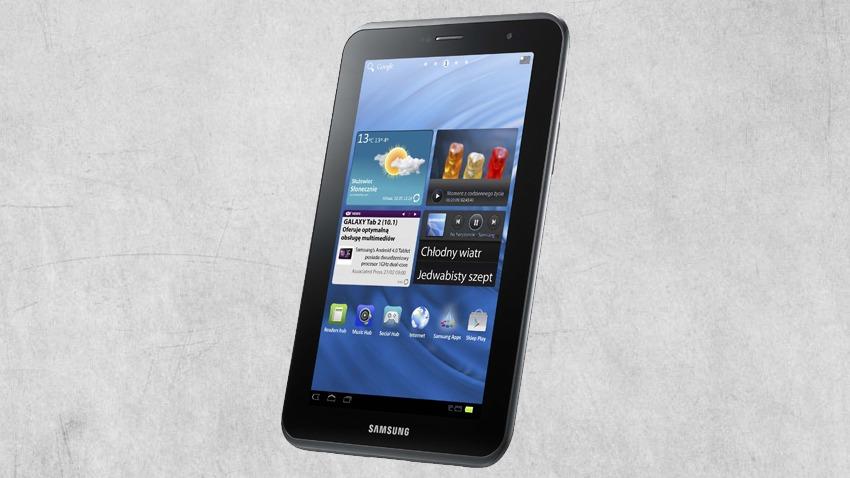 Photo of Test Samsung Galaxy Tab 2 7.0