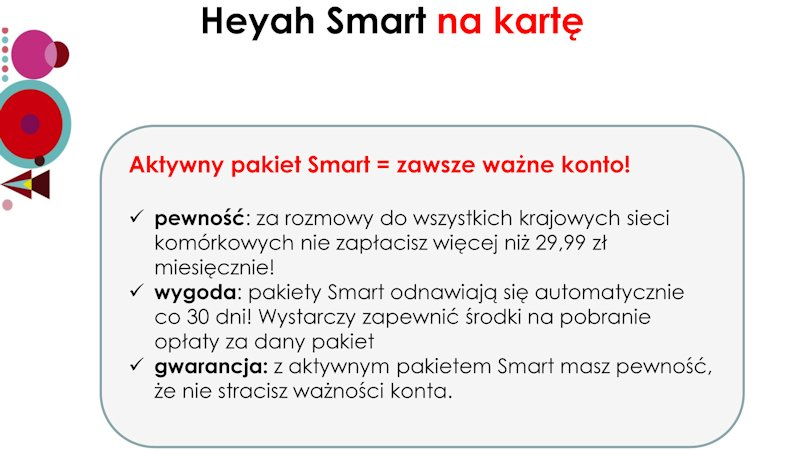 heyah-Copy Heyah Smart na kartę