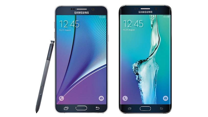 Photo of Zdjęcie prasowe Samsunga Galaxy S6 Edge Plus i Note 5