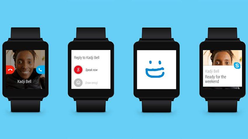 Photo of Android Wear otrzymuje wsparcie dla Skype-a