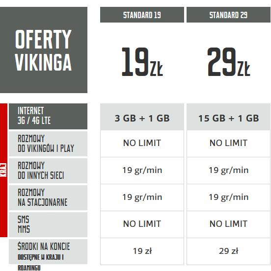viking Mobile Vikings Standard