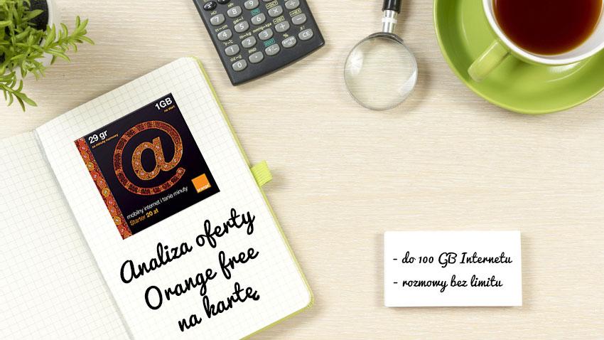 Photo of Analiza Orange Free na kartę