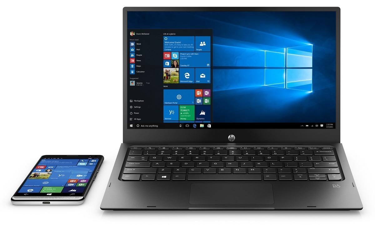 news-hp-elite-x3-2 HP pokazał imponujący smartfon biznesowy - Elite x3 z Windows 10 i obsługą Continuum