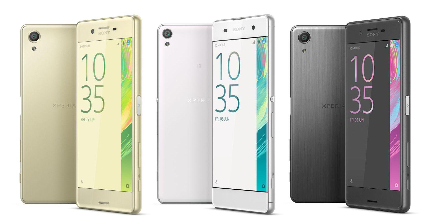news-sony-xperia-x-1 Sony zaprezentowało pierwsze smartfony z serii Xperia X