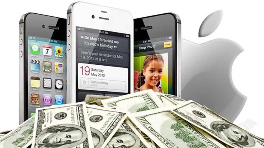 Apple zdobył 93% zysków całego mobilnego rynku