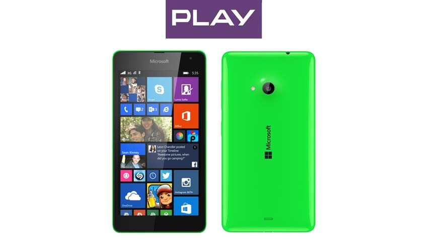 Microsoft Lumia 535 w ofercie Play