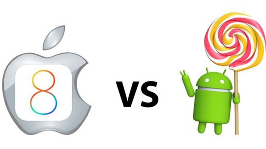 Android 5.0 Lollipop bardziej stabilny niż iOS 8?