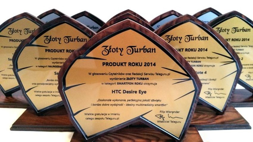 Turbany Teleguru 2014: Najlepsze produkty według Czytelników i Redakcji Teleguru