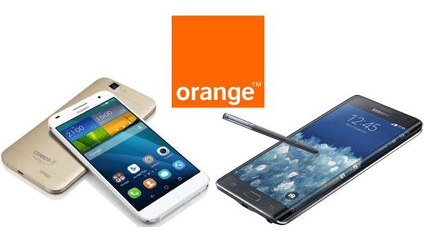 Photo of Huawei Ascend G7 i Samsung Galaxy Note Edge w ofercie Orange