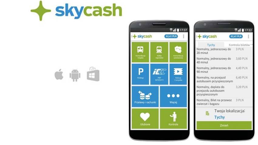 SkyCash umożliwia zakup biletów PKP Intercity użytkownikom telefonów z Androidem