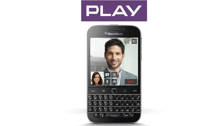 BlackBerry Classic w ofercie Play