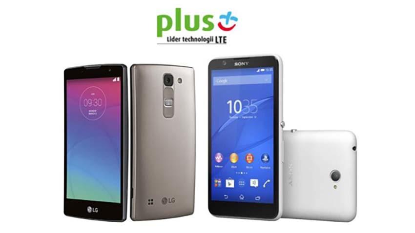 LG Spirit i Sony Xperia E4 w ofercie sieci Plus