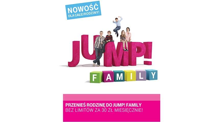 Nowe taryfy rodzinne Jump! w T-Mobile
