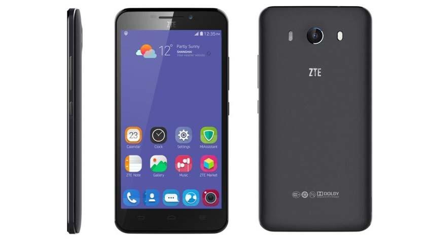 ZTE Grand S3 - smartfon ze skanerem oka