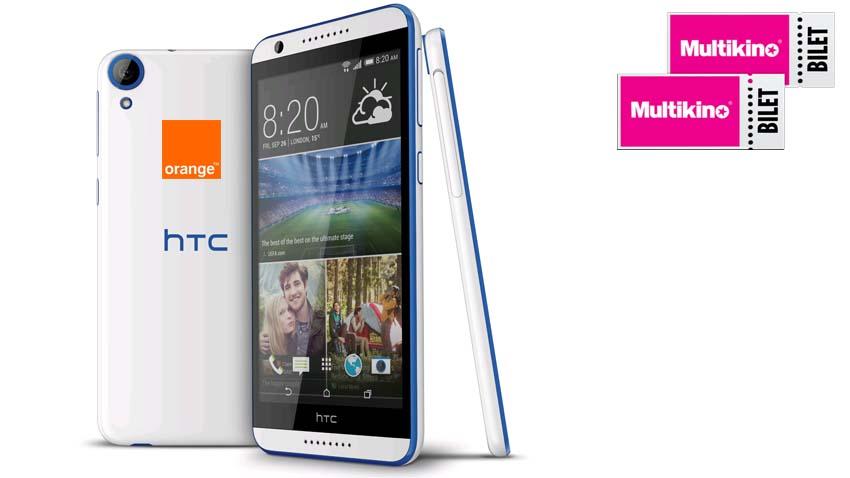 Promocja Orange: Bilety do Multikina od HTC