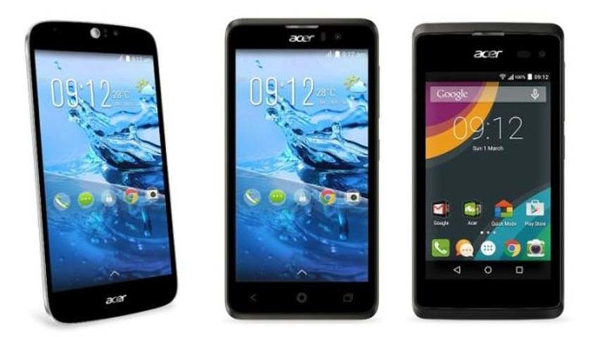 Nowe smartfony Acer na targach MWC 2015