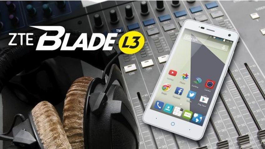 Premiera ZTE Blade L3 na MWC 2015