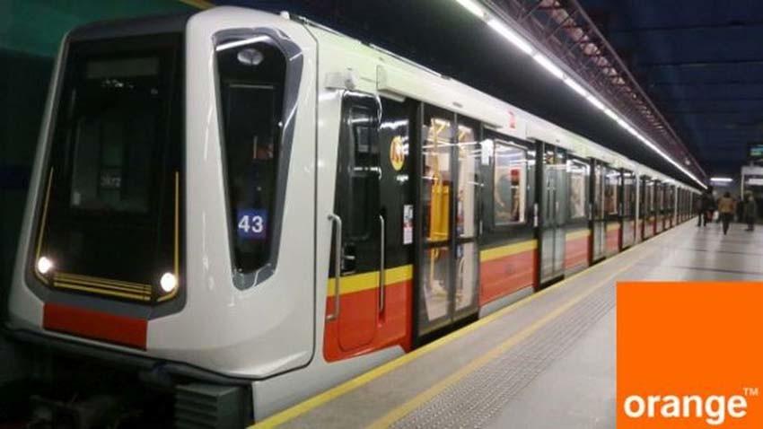 Orange z LTE na drugiej linii metra
