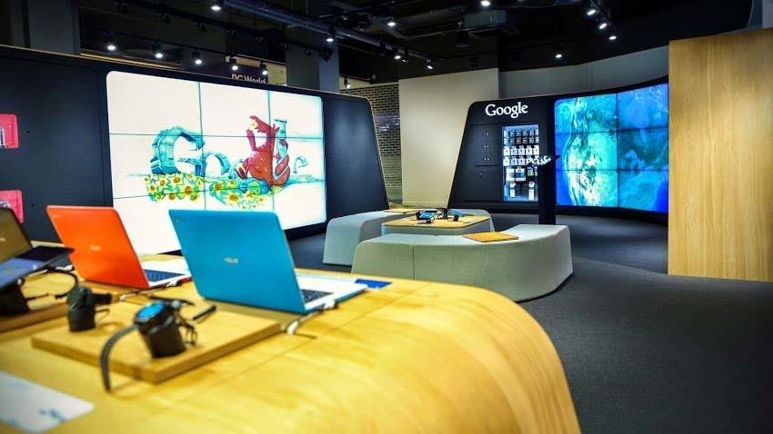 Google otwiera swój pierwszy stacjonarny punkt sprzedaży