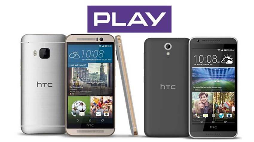 (Aktualizacja) HTC One M9 i Desire 620 w ofercie Play