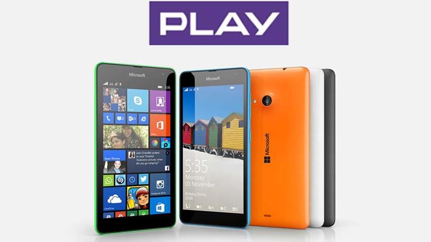 Microsoft Lumia 535 Dual SIM w Play