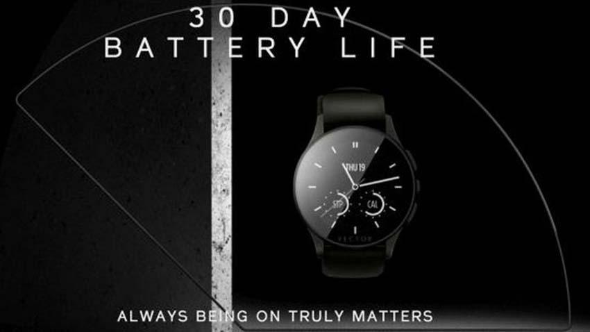 Photo of Smartwatch Vector zapewni 30 dni działania na jednym ładowaniu