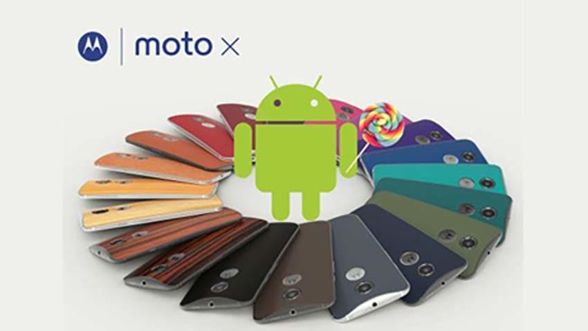Android 5.1 Lollipop zmierza na Moto X (2014)