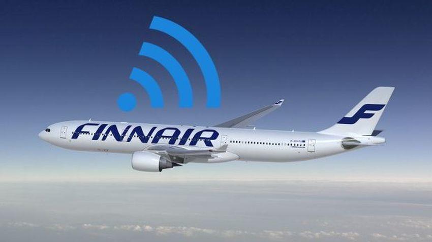 Finnair wprowadzi Wi-Fi do swoich samolotów