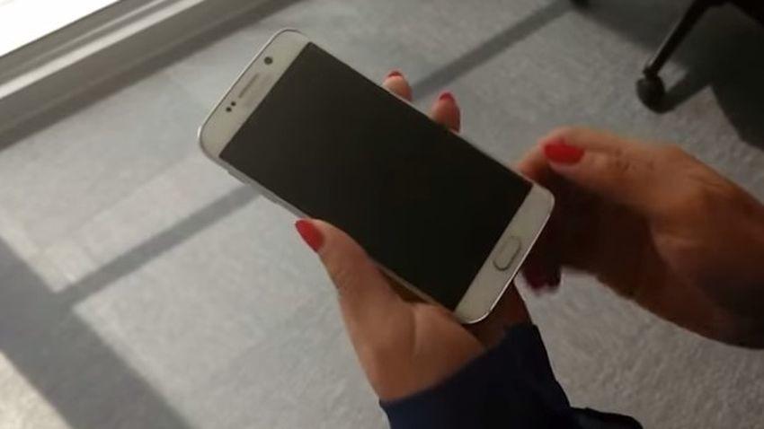 """Samsung Galaxy S6 Edge w pierwszym """"teście"""" wytrzymałości"""